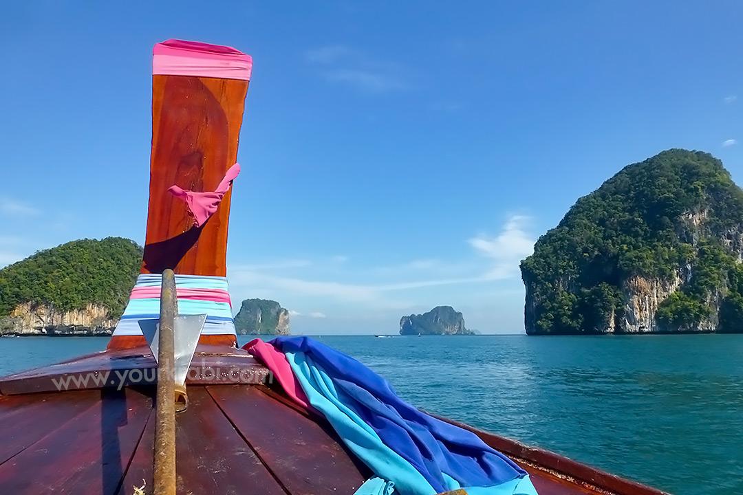 Longtail Boat to Hong Islands Krabi