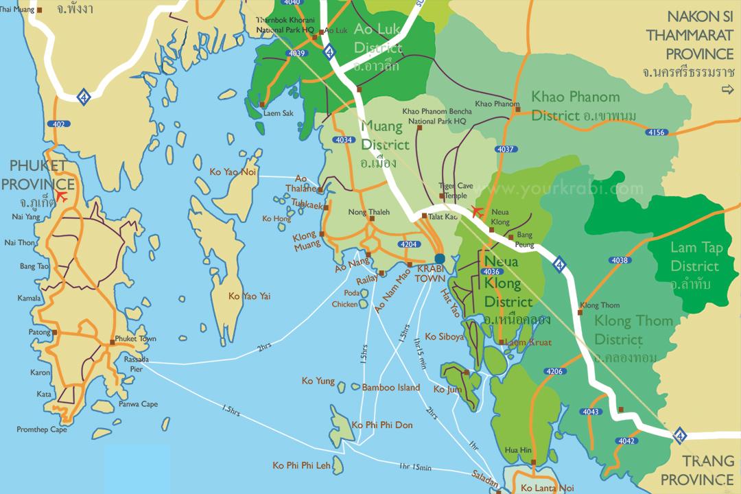 krabi mapa Custom maps of Krabi | Your Krabi krabi mapa