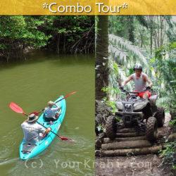 Kayaking in Bor Thor + ATV combo tour