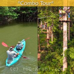 Bor Thor Kayaking + Zipline Adventure combo tour