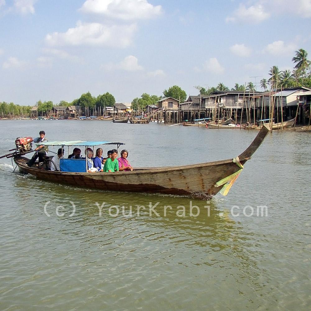 The Krabi backwaters, approaching Koh Klang