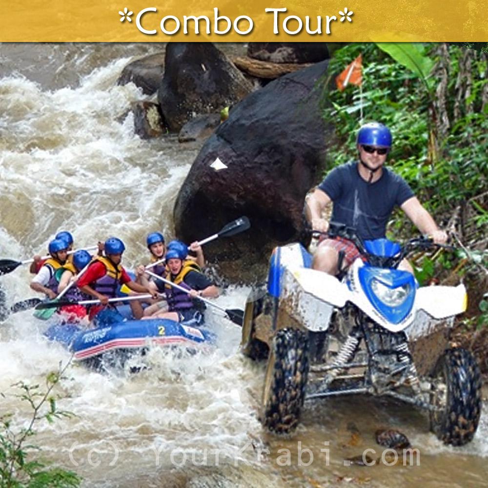 Rafting and ATV Combo Tour