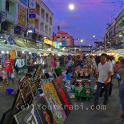 Walking Street Market, Krabi Town