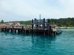 Tonsai Bay Pier