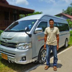 Private minivan charter - Krabi