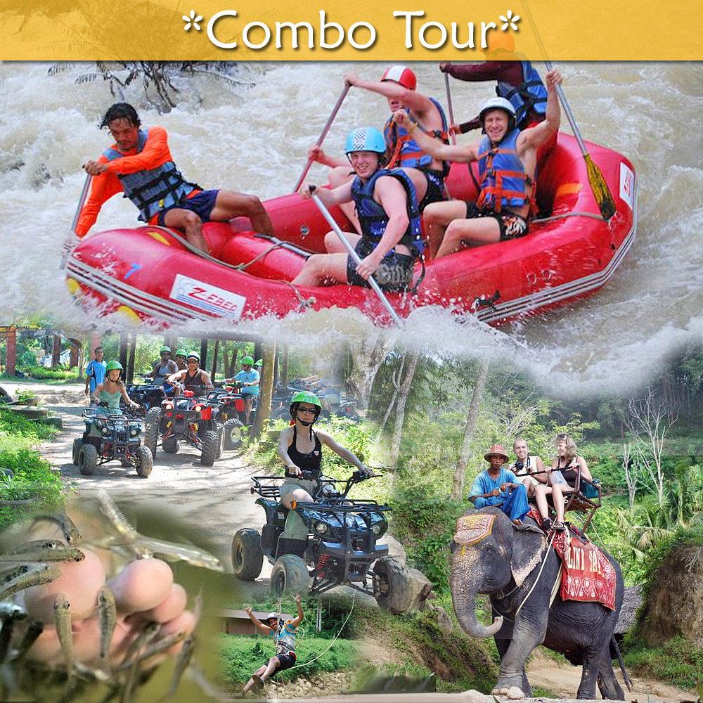 White Water Rafting + Safari Camp combo tours