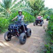 Or a spot of ATV riding...